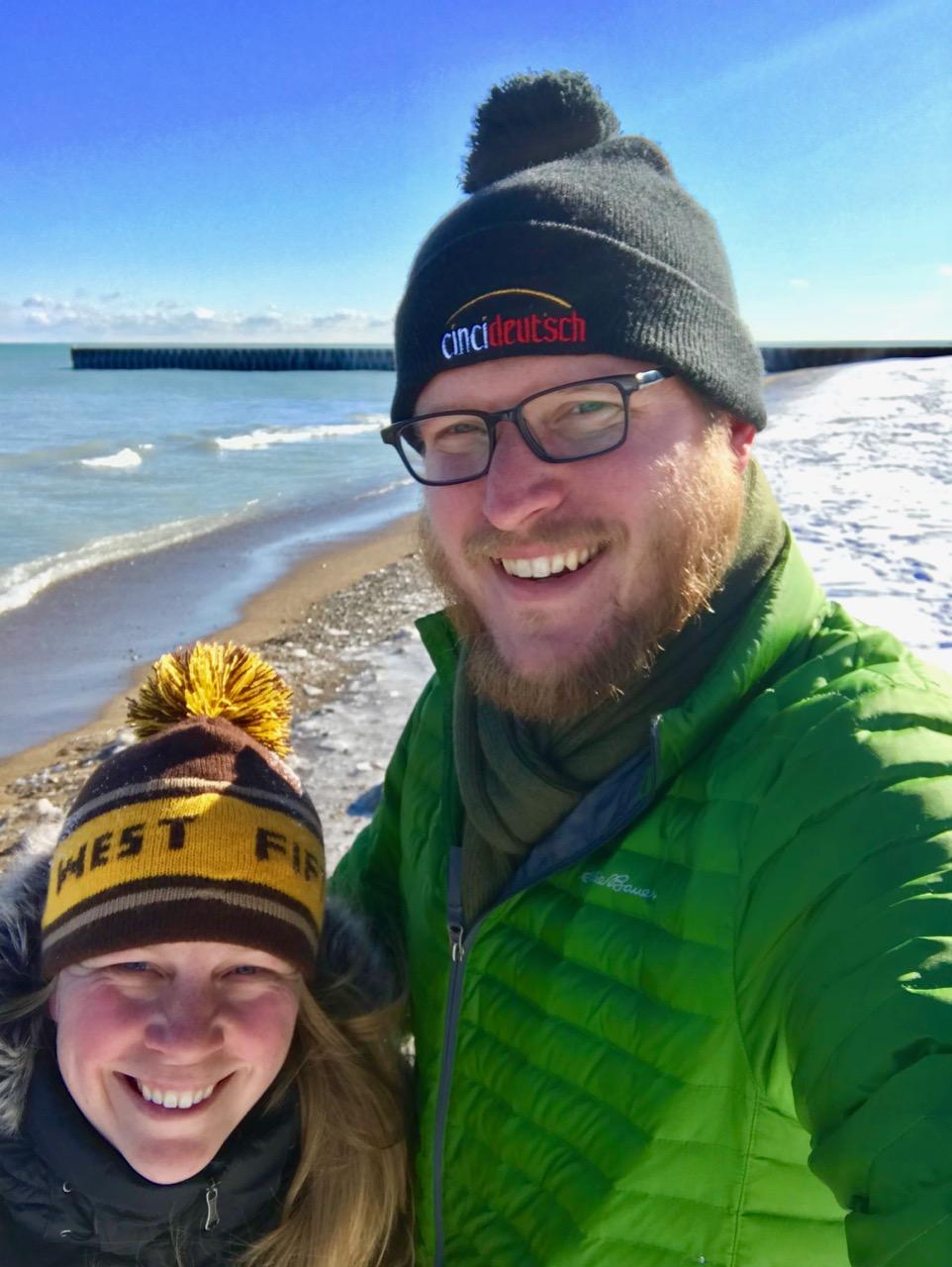 Winter at Lake Michigan